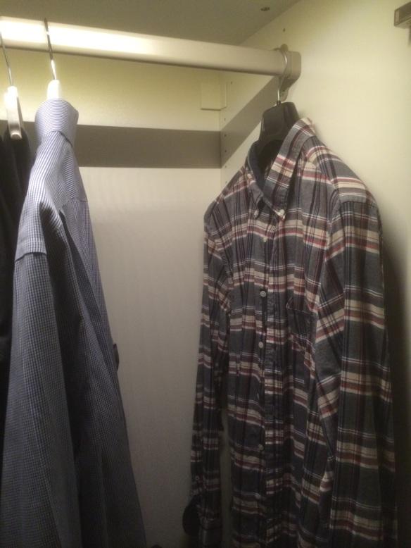 Plats för nya skjortor!